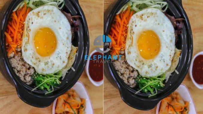 Cơm trộn Hàn Quốc ở Zé Food Đà Nẵng