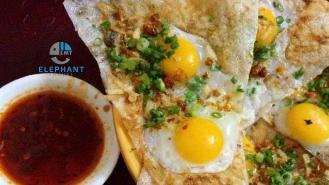cách làm bánh tráng kẹp trứng | Món Miền Trung