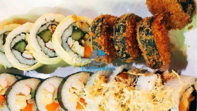 Kimbap hàn Quôc ở Zé Food Đà Nẵng